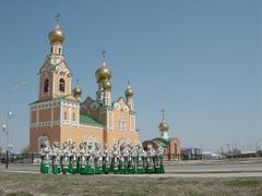 Православный Храм by <b>shergilov</b> ( a Panoramio image )
