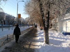 Winter, frost in Uralsk. by <b>KAR66</b> ( a Panoramio image )