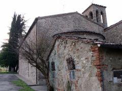 Modigliana (FC) - Chiesa di S.Pietro in Tossino - Sec.XIII  (25/ by <b>esse est reminisci (SAVE PANORAMIO)</b> ( a Panoramio image )