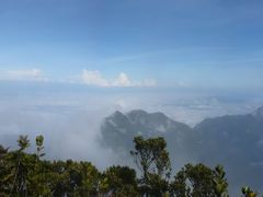 Panorama from Gunung Mulu summit by <b>ian hollingsworth</b> ( a Panoramio image )