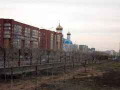 Astana, Zhirentaev street, park by <b>unclefed</b> ( a Panoramio image )