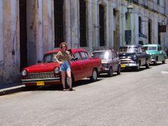 Oldtimers, Havana, Cuba, 2004 by <b>Peter Uspensky</b> ( a Panoramio image )