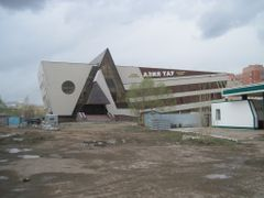 "Будущий торговый центр ""Азия Тау""  by <b>*Andrew*</b> ( a Panoramio image )"