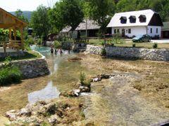 Summer at Korana river in Korana village by <b>Marin Stanisic</b> ( a Panoramio image )