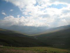 Вид с дороги в сторону реки Тургень by <b>Tikhon Butin</b> ( a Panoramio image )