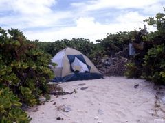camp at runit island by <b>nnoguci</b> ( a Panoramio image )
