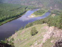 Вид на Устье р. Менза by <b>Waterfall</b> ( a Panoramio image )