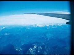 View of Mt.Rainier from airplane leaving Ft.Lewis ,Wa. by <b>vnvetlester</b> ( a Panoramio image )