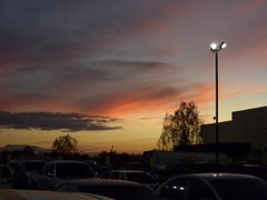Atardecer frente a Mega Plaza, El Progreso, HONDURAS by <b>wolfpape</b> ( a Panoramio image )