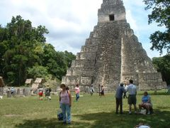 Tikal Maya site Guatemala by <b>Lucien Kivit</b> ( a Panoramio image )