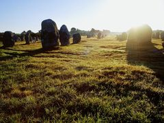 Sunrise at Le Menec, 4, Carnac, Bretagne, august 2001 by <b>Marco Ferrari</b> ( a Panoramio image )