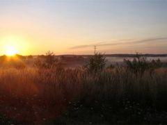 Gryfino - o wschodzie slonca (ok.5.00)  by <b>Dworzanski.Gryfino</b> ( a Panoramio image )