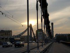 Москва. На Крымском мосту by <b>Nikitin_Sergey</b> ( a Panoramio image )