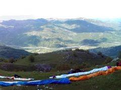 Paragliding Mojkovac start Ckara by <b>Dusan Stevovic</b> ( a Panoramio image )