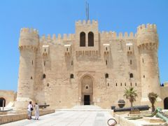 Alexandria, Qaitbay Castle 2 by <b>S.Laci</b> ( a Panoramio image )