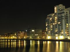 """Copenhagen by Night"" - Islands Brygge, Copenhagen, Denmark  by <b>Jan Sognnes</b> ( a Panoramio image )"