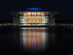 """Night"" - The Opera House, Copenhagen, Denmark  by <b>Jan Sognnes</b> ( a Panoramio image )"