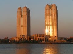 Cairo, Nile City Towers by <b>S.Laci</b> ( a Panoramio image )