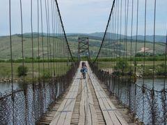 Висячий мост через Чикой by <b>Waterfall</b> ( a Panoramio image )