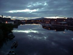 Twilight view, River Suir and Slievenamond from The New Bridge by <b>John-Ita</b> ( a Panoramio image )