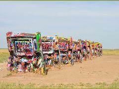 Amarillo - Cadillac Ranch by <b>roadrunner48</b> ( a Panoramio image )