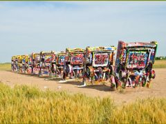 Amarillo - Cadillac Ranch by <b>roadrunner48</b> ( a Panoramio image )