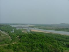 3 Countries at Tumen River by <b>smusen</b> ( a Panoramio image )