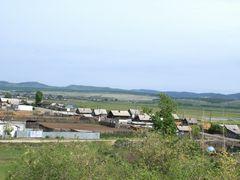 c. Маккавеево ,пейзаж из окна школы by <b>Tromenshleger</b> ( a Panoramio image )