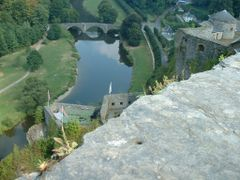 View from Godfrey of Bouillon castle at the river Semois,  Bouil by <b>Lucien Kivit</b> ( a Panoramio image )