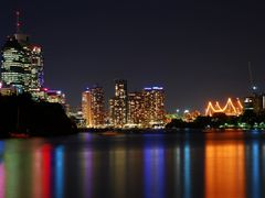 Brisbane City Riverside by Night HDR by <b>yoorala</b> ( a Panoramio image )