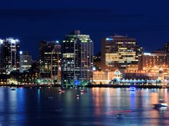 Halifax at night by <b>paul toman</b> ( a Panoramio image )