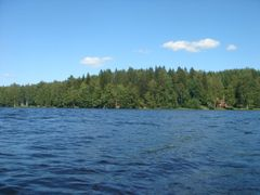 Lake Ylimminen by <b>Lauri V.</b> ( a Panoramio image )