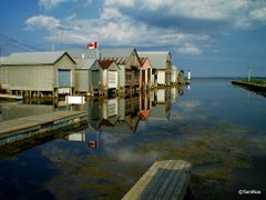 Docks, Port Rowan by <b>Tomros</b> ( a Panoramio image )