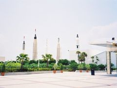 Rocket Garden at Kennedy space Center, Florida,USA-Photo taken  by <b>unnippillai</b> ( a Panoramio image )