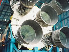 Apollo-X Rocket kept for viewing by the visitors at Space Center by <b>unnippillai</b> ( a Panoramio image )