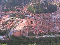 Colegiul Andrei Saguna - Poarta Schei  BRASOV cetatea Kronstadt by <b>Vokrug Sveta</b> ( a Panoramio image )