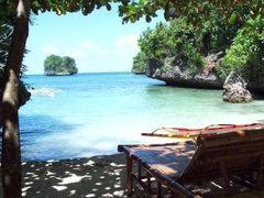 The crystal clear waters Lamanoc Beach - Anda, Bohol  by <b>francinelb3</b> ( a Panoramio image )