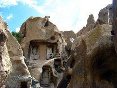 Like a human face in a fantasy world! (Jan Sognnes);  A house is by <b>H. Lotfi-Azad</b> ( a Panoramio image )