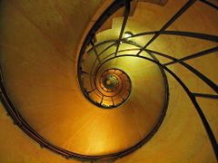 Look up the Spiral staircase of Arc de Triomphe by <b>SEIMA</b> ( a Panoramio image )