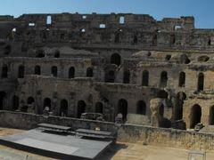El Jem,  Tunisia, Amphitheatre_5 / Tunezia, El Jem, amfiteatrum_ by <b>sbb66</b> ( a Panoramio image )