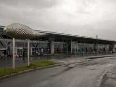 Tromso airport by <b>longdistancer</b> ( a Panoramio image )