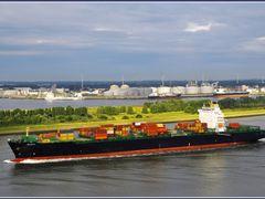 Maassluis - Octavia, en route  Rotterdam by <b>Ria Maat</b> ( a Panoramio image )