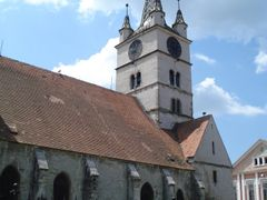 Evangelical Church, Sebes, Alba County by <b>colinx1723</b> ( a Panoramio image )