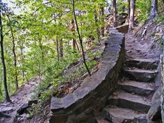 Cedar Falls Trail, Petit Jean State Park by <b>Geezer Vz</b> ( a Panoramio image )