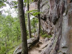 Bear Cave Trail, Petit Jean State Park by <b>Geezer Vz</b> ( a Panoramio image )