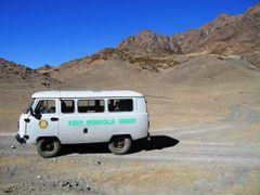 Keep Mongolia Beige, Gurvan Siakhan Mts, Mongolia. by <b>Finnbar</b> ( a Panoramio image )