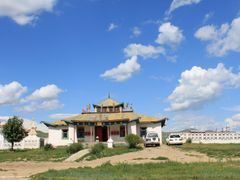 Datsan in Darkhan by <b>E.G.Tsatsralt</b> ( a Panoramio image )