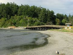 Esquimalt Lagoon and Coburg Peninsula... by <b>frtzw906</b> ( a Panoramio image )