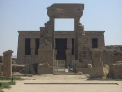 Entrance to the Temple Complex - Dendera, Egypt by <b>T NL</b> ( a Panoramio image )