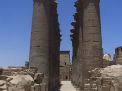 "Amenhotep""s Colonnade at Luxor Temple - Luxor, Egypt by <b>T NL</b> ( a Panoramio image )"